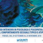 Corso intensivo in psicologia e psicopatologia del comportamento sessuale tipico e atipico