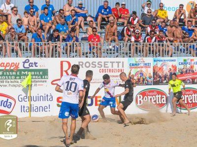 Catania Beach Soccer campione d'Italia! – INTERVISTA A GABRIELE GRASSO
