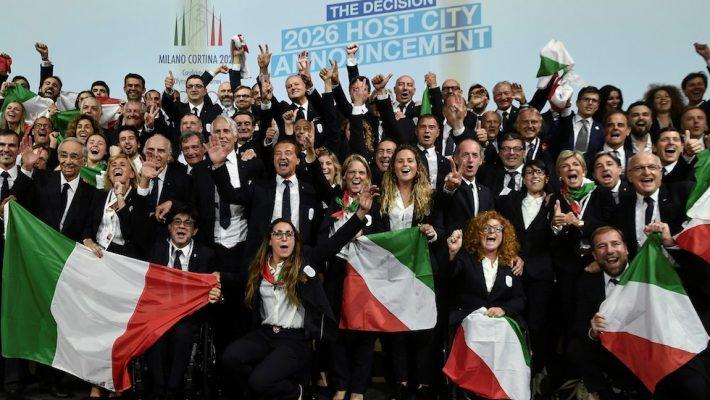 Tutti uniti per Milano-Cortina 2026! Dopo 20 anni tornano le Olimpiadi in Italia