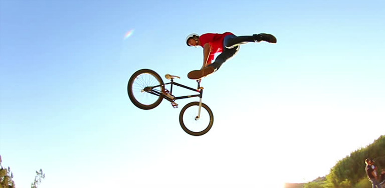 Saltare con la BMX